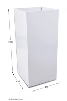 Large Square Dump Bin - Unprinted