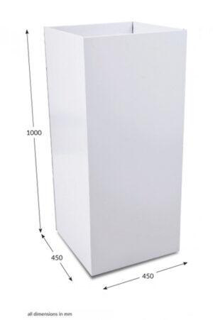 Large Square Dump Bin - Unprinted